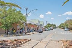 Сцена улицы в Fauresmith Стоковые Фотографии RF