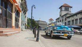 Сцена улицы Гаваны Стоковая Фотография RF