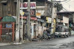 Сцена улицы, Манила, Филиппины стоковая фотография