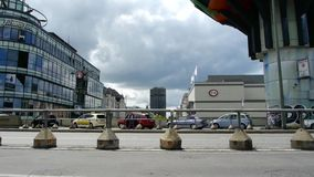 Сцена улицы от Берлина акции видеоматериалы