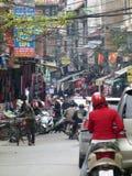 Сцена улицы Хо Ши Мин Стоковое Изображение RF