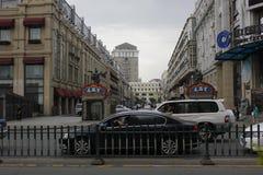 Сцена улицы Стоковое фото RF