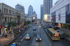Сцена улицы Стоковое Фото