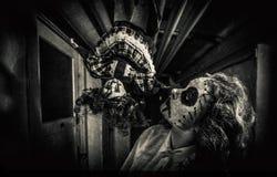 Сцена фильма ужасов Стоковые Фото