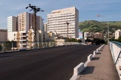 Сцена центра города Iguacu Новы городская стоковые фотографии rf