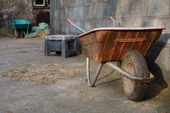 Сцена farmyard Стоковая Фотография