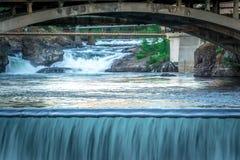Сцены вокруг spokane Вашингтона городского стоковая фотография