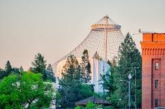 Сцены вокруг spokane Вашингтона городского стоковые фото