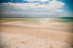 Сцены ночи на пляже Флориды Стоковая Фотография