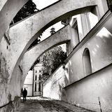 Сцены от Киева в монастыре Стоковое Изображение RF