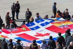 Сцены Роба Форда похоронные, Торонто, Канада стоковое изображение rf