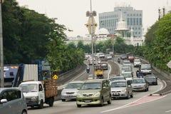 Сцены улицы Куалаа-Лумпур, Малайзии Стоковое Изображение RF