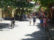 Сцены улицы от Hoi, Вьетнама Стоковые Фото