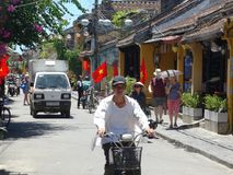 Сцены улицы от Hoi, Вьетнама Стоковое Фото