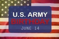 Счастливая американская предпосылка Дня флага стоковое изображение rf