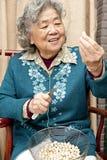 Счастливая бабушка стоковое изображение rf
