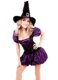 Счастливая ведьма Стоковые Фото
