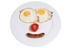счастливая еда Стоковые Фотографии RF