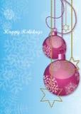 счастливая иллюстрация праздников Стоковые Изображения RF