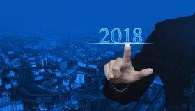 Счастливая концепция 2018 Нового Года стоковая фотография