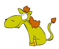 счастливая лошадь Стоковые Изображения RF