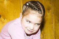 Счастливая маленькая девочка Стоковое Изображение RF