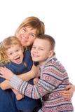 счастливая мать стоковая фотография