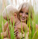 счастливая мать Стоковые Изображения RF