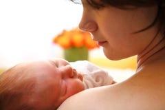 счастливая мать Стоковое Фото