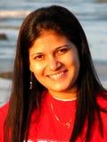 Счастливая молодая азиатская женщина Стоковое Фото