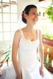 Счастливая невеста Стоковое Изображение RF