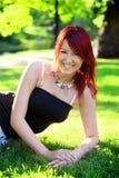 Счастливая девушка Стоковое фото RF