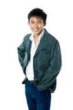Счастливое азиатское предназначенное для подростков Стоковое Фото