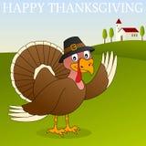 Счастливое благодарение Турция Стоковые Изображения RF