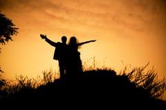 счастливое венчание Стоковые Фото
