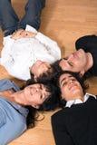 Счастливое время семьи Стоковая Фотография RF