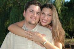 счастливое замужество Стоковое фото RF