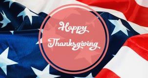 Счастливое знамя благодарения, стоковые фото