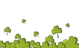 Счастливое знамя вектора дня Patrick Стоковые Изображения RF