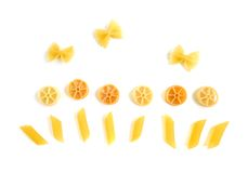 счастливое изображение макаронных изделия Стоковое Изображение