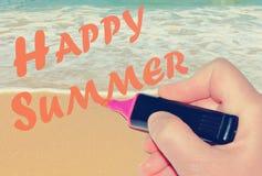 счастливое лето Стоковое фото RF
