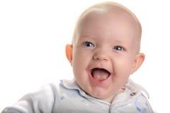 счастливое младенца милое Стоковые Изображения