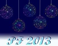 Счастливое Новый Год 2013 Стоковое Фото