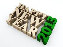 Счастливое Новый Год 2013 Стоковое Изображение RF
