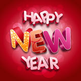 счастливое Новый Год Иллюстрация штока