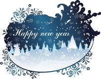 счастливое Новый Год Стоковое фото RF