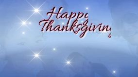 Счастливое письмо сообщения дня благодарения к приветствовать другое мы забота и любовь для поддержания отношения бесплатная иллюстрация