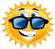 счастливое солнце Стоковая Фотография RF