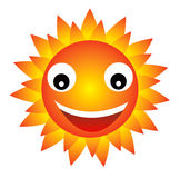 счастливое солнце Стоковые Фотографии RF