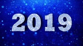 Счастливое Diwali желает голубого яркого блеска сверкная пыли моргать закрепленные петлей частицы иллюстрация вектора